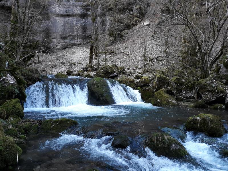 Gorges du Nan: Cognin les gorges