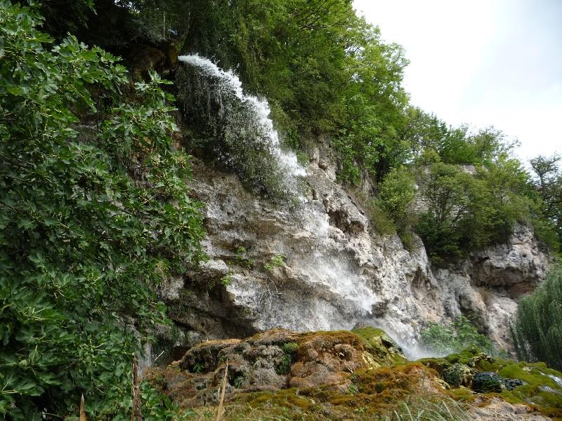 Randonnée Le jardin des fontaines pétrifiantes - A visiter en ...