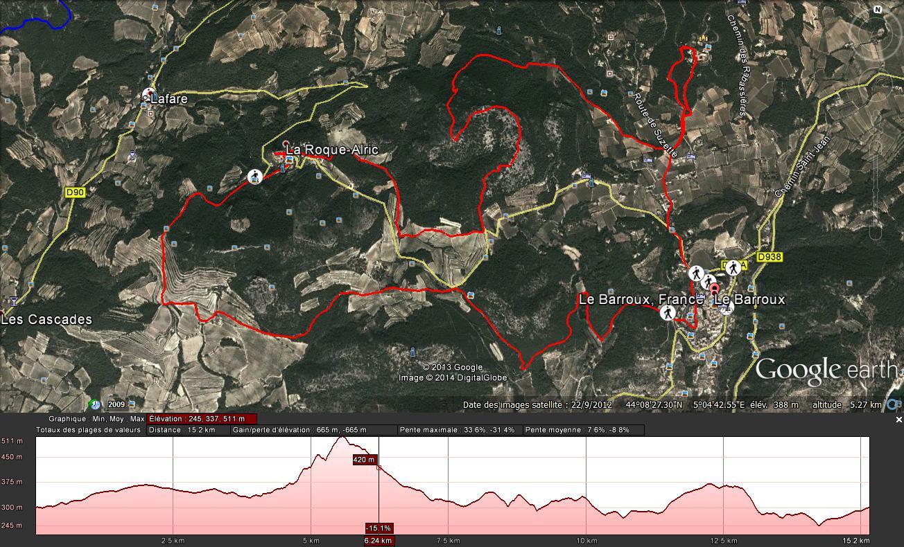 La Roque Alric (le bon)