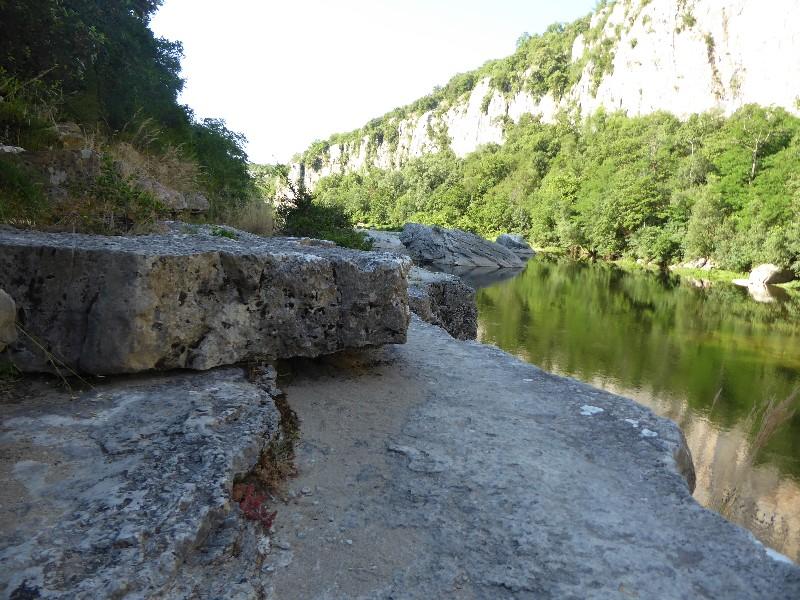 Le long du Chassezac